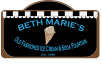 Logo created with Adobe Illustrator CC. The shapes are designed after Beth Marie's famous chalkboard that lists the menu items behind the counter.
